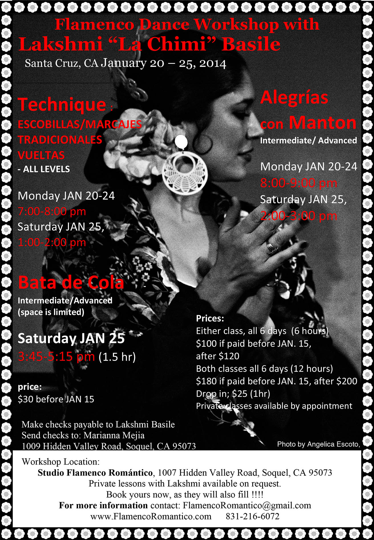 Flamenco Workshop with Lakshmi
